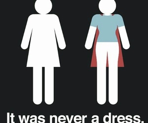 woman, dress, and power image