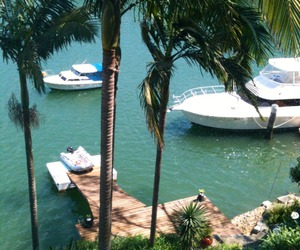 summer, sea, and boat image