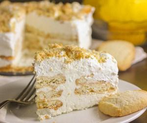 cake, lemon, and shortbread image