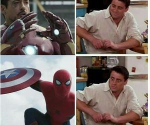 civil war, Marvel, and rdj image