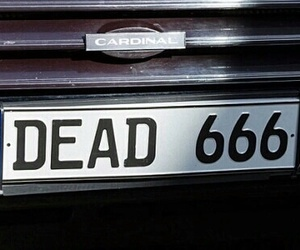 dead, grunge, and 666 image