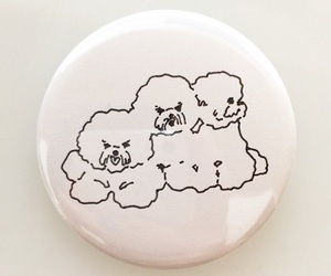 dogs, illustration, and pin image