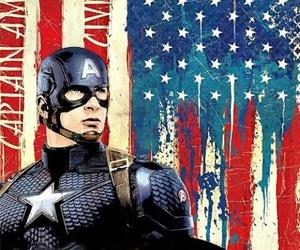 civil war, Marvel, and captain america image