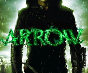 arrow, serie, and oliver queen image