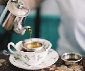vintage, photography, and tea image