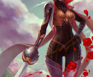 league of legends, fiora, and anime image