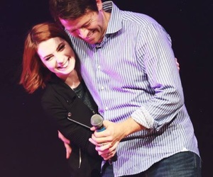 supernatural, misha collins, and Felicia Day image