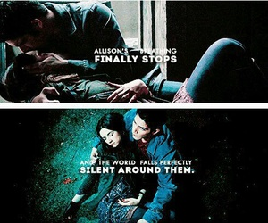 teen wolf, allison argent, and tw image