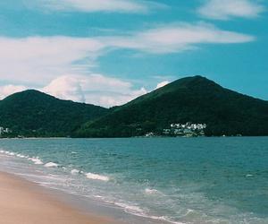 beach, summer, and férias image