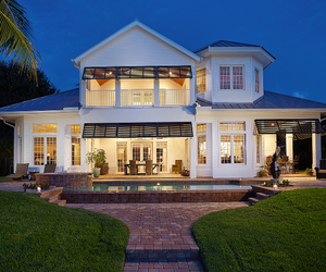 architecture, dream home, and florida image