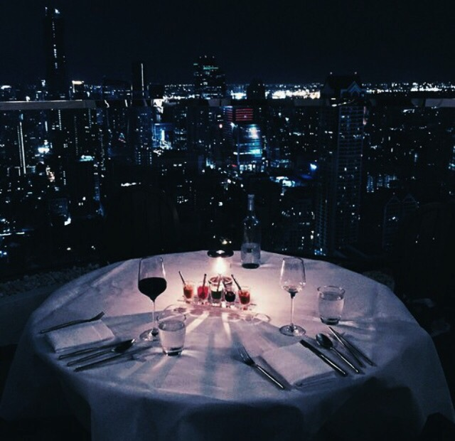 love and dinner image