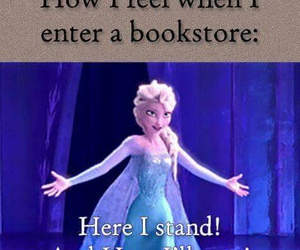 books, bookstore, and frozen image