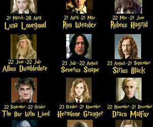 harry potter and horoscope image