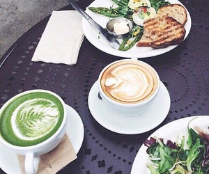 food, coffee, and summer image