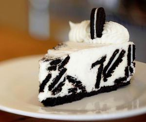black, cake, and sweets image