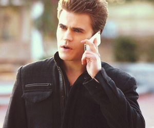stefan salvatore, the vampire diaries, and paul wesley image