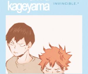 hinata, manga, and haikyuu image