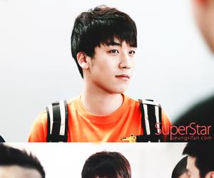 handsome, orange, and seungri image
