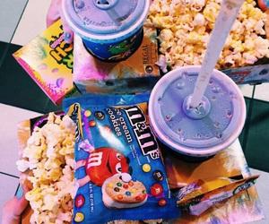 food, popcorn, and sweet image