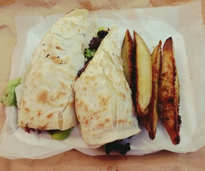 brunch, delicious, and wrap image