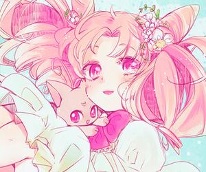 anime, kawaii, and sailor moon image