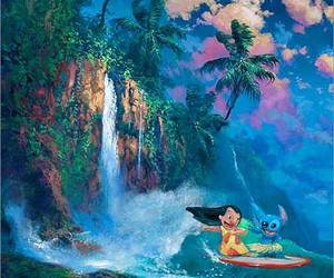 james coleman and disney fine art image