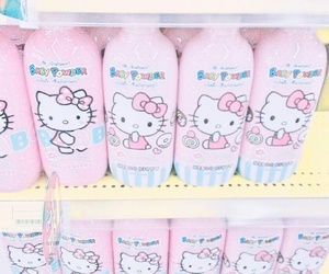 colorful, HelloKitty, and japan image