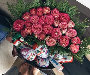 flowers, rose, and Best image
