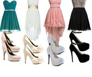 dresses, shoes, and going out image