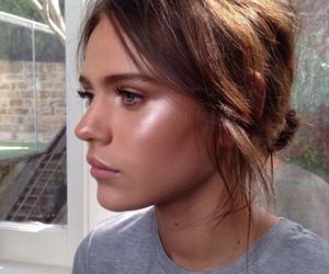 makeup, model, and hair image