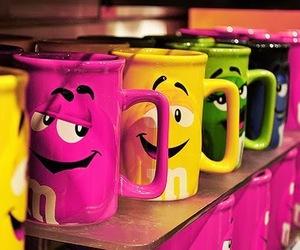 m&m, cup, and mug image