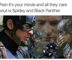 Marvel, black panther, and captain america image