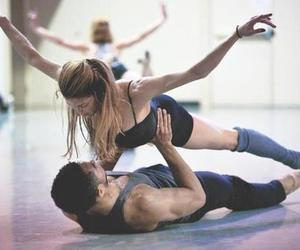 love, dance, and couple image