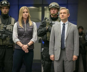 Marvel, captain america, and Martin Freeman image