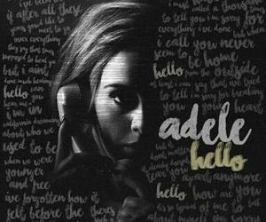 Adele, Lyrics, and song image
