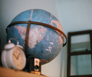 aesthetic, globe, and grunge image