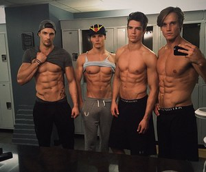 boys, fit, and nice image