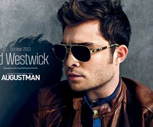 ed westwick, chuck bass, and gossip girl image