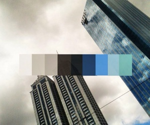 blue, building, and clouds image