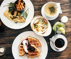 brunch, coffee, and eat image