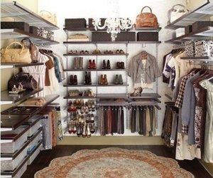 clothes, wardrobe, and closet image
