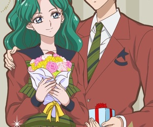anime, sailor neptune, and sailormoon image