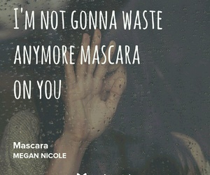 mascara and megan nicole image