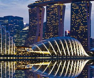singapore, asia, and travel image