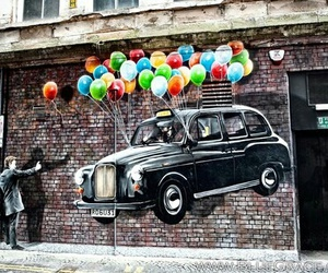 street art, car, and art image
