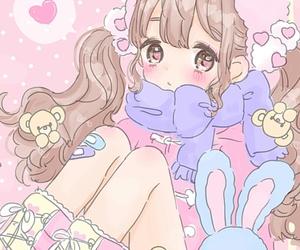 anime, art girl, and baby doll image