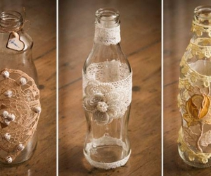 bottles, glass bottles, and used bottles image