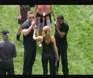 behind the scene, Shailene Woodley, and allegiant image