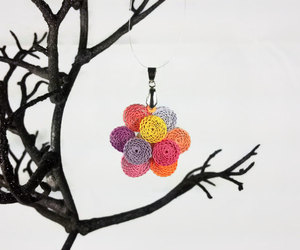 etsy, spring fashion, and flower jewelry image