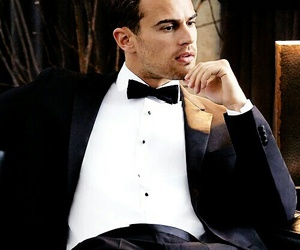 theo james, divergent, and man image